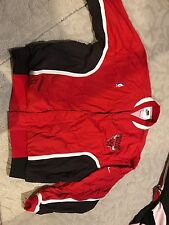 1980s MICHAEL JORDAN CHICAGO BULLS SAND KNIT Game Issue WARM Up Jacket Jersey