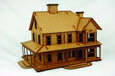 Old West Cowboy Building CATTLE BARON'S RANCH HOUSE  25mm, 28mm Terrain, D046