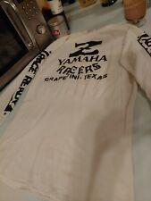 Vintage Yamaha Motocross Jersey Racers Grapevine, Tx Race Ready White Great Logo