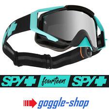 2019 Spy Agüero Motocross Moto Gafas-Cole Seely/lentes espejados de espectros de Plata
