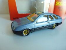 SOLIDO 1340 FORD SIERRA XR4 I BLEU METAL 1/43 TBE NM + BOX  MADE IN FRANCE