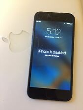 Apple iPhone 6 Space Gray 16gb  - Read Description FOR PARTS ONLY!!