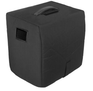 """Roland D-Bass 115X Powered Cabinet Cover - 1/2"""" Padded, Black, Tuki (rola030p)"""