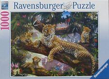Ravensburger Leopard Family 1000 pc Jigsaw Puzzle