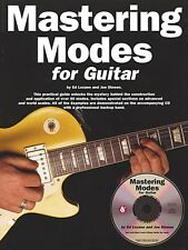 Mastering Modes for Guitar - Book and CD NEW 014020885