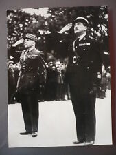 PHOTOGRAPHIE 1939 DESIRE FERRY OFFICIERS DE RESERVE FRANCAIS EN ANGLETERRE