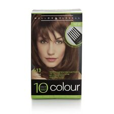 3xMellor & Russell 10 Minute Colour No.13 Natural Light Brown Permanent hair dye