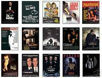 Classic Gangster Film Poster Trading Card Set Godfather FREE UK POSTAGE