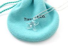 Tiffany & Co RARE Peretti Crystal Star Fish Starfish Necklace!