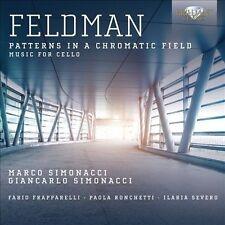 Feldman: Patterns in a Chromatic Field (CD, Dec-2013, 2 Discs, Brilliant...