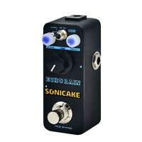 SONICAKE Echo Rain Analog Style Hybrid Digital Delay Guitar Effects Pedal QSS-03