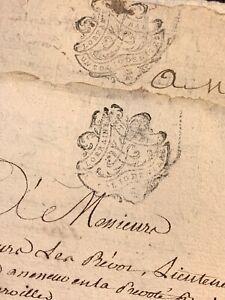 LOT OF TWO MANUSCRIPTS  1773