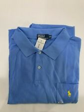 NEW Ralph Lauren Polo Blue  Shirt 4Xb 4X BIG Shirt