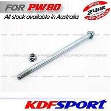KDF PW80 PY80 PEEWEE ENGINE PARTS SWINGARM AXLE FOR YAMAHA PW PY 80 SWING ARM