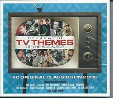 The Greatest TV Themes Of The 50s & 60s...40 Original Classics (2CD) NEW/SEALED