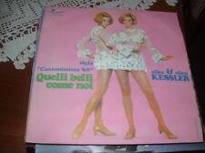 "GEMELLE KESSLER "" QUELLI BELLI COME NOI "" CANZONISSIMA'69 ITALY'69"