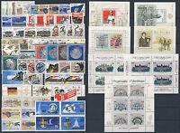 Lot DDR Michel No. 2993 - 3365 ** postfrisch - Jahrgang 1986 - 1990 komplett