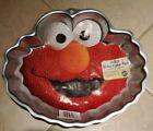 Wilton: SESAME STREET- ELMO FACE Cake Pan #2105-3461 Aluminum 12' x 11'