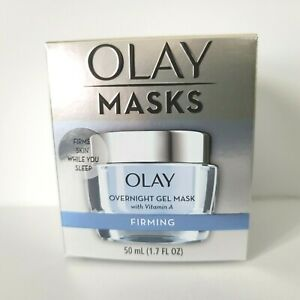 Olay Masks Overnight Gel Mask with Vitamin A FIRMING Hydrating 1.7oz NEW