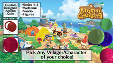 [NEW] Animal Crossing Amiibo NFC Tag Collectors Coins - CHOOSE YOUR CHARACTER