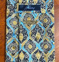 Guaranteed Authentic BRIONI Silk Necktie - MADE IN ITALY 100% Silk