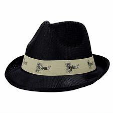 Asbach Hut schwarz Mütze Kappe Cap Sonnenhut