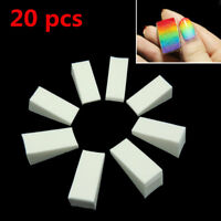 20 PCS/Pack White Makeup Blender Blending Foundation Sponge Puff New