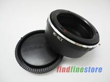 Minolta MD MC Lens to Sony E NEX 3 NEX 5 NEX 7 C3 a7R a5100 a6000 adapter + CAP