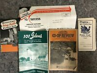 Lot of Vintage Farming Related Advertising Items-Poultry
