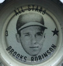 """1967 BROOKS ROBINSON Coke Cap *MINT never used"""" NEVER find one nicer Grade 10 ⚾"""