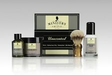 Ministry of Shave Unscented Shaving Kit - Made in Australia- Same Day Post!