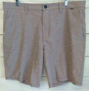 Hurley Shorts Men Phantom Hybrid Red/Violet Size 38 Regular Fit