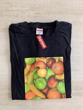 Supreme Fruit T-Shirt Black Size XL