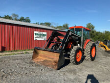 2003 Kubota M9000 4x4 90hp Farm Tractor With Cab Amp Loader Only 2500 Hours