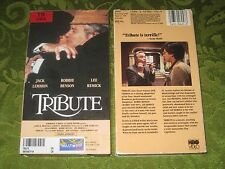 TRIBUTE VHS VIDEO JACK LEMMON LEE REMICK RARE MOVIE NOT ON DVD!!!