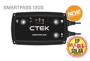NEW CTEK SmartPass 120S 12A Power Management System