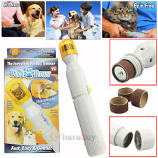 Nail Trimmer Grinder Grooming Tool Care Clipper For Pet Dog Cat