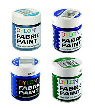 Dylon Fabric Paint Set - Ocean - 4 x 25ml Pots (8, 15, 28, 36)