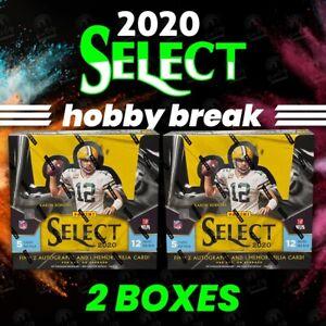 TEE HIGGINS - 2020 SELECT NFL HOBBY - 2 BOXES - PLAYER BREAK #2