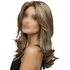 Charming Women Long Wavy Curly Hair Cosplay Party Wigs+Wig Cap Heat Resistant