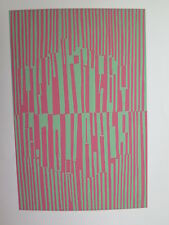 Josef Albers Original Silkscreen Folder XVIII-3 Right Interaction of Color 1963