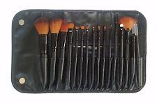 LyDia 16piecse makeup cosmetic black brush set
