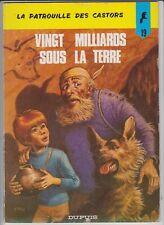 LA PATROUILLE DES CASTORS MITACQ N°19 EO  et la REED  Le...Monts tabou (67)