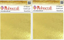 More details for 100% gold leaf 80 sheets - arts and crafts