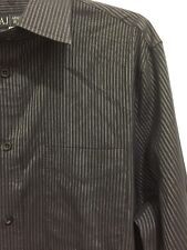 ARMANI JEANS Long Sleeve Button Front Shirt Mens Size Large