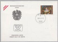 Österreich Austria 1630 Ersttag Weihnachten 1979 Christi Geburt, Ikone - Wien