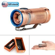 Olight S MINI 550 Lumens Flashlight Cree XM-L2 LED w/ 1600mAh CR123A(Raw Copper)