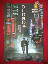 OLDBOY * 2005 ORIGINAL MOVIE POSTER 1SH AUTHENTIC U.S. RELEASE KILL BILL MONDO