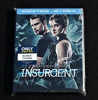 INSURGENT THE DIVERGENT SERIES STEELBOOK BLU-RAY DVD NEW SEALED