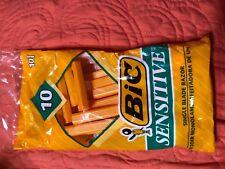 BIC Sensitive Disposable Razors single blade Mens Razors 10 Razors per pack